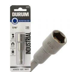 DURUM 7/16inch x 65mm Magnetic Power Nutsetter