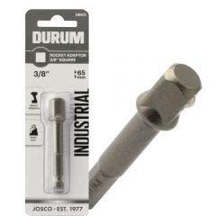DURUM 1/4-Hex to 3/8-Drive Socket Adaptor Bit