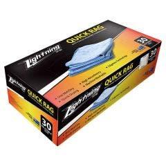 LIGHTNING Quick Rag - 30 Pack LQR030