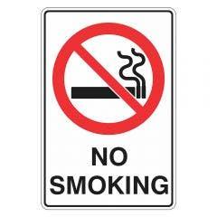 WILCOX SAFETY 300mm x 225mm No Smoking Sign P539CM
