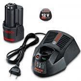 BOSCH 12V 2.0Ah Battery and Charger Starter Kit 0615990GA6