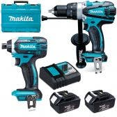 MAKITA 18V 2 Piece 2 x 3.0Ah Combo Kit DLX2145