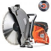 HUSQVARNA K970 94CC 400MM DEMOLITION SAW INCLUDES 2X BLADES