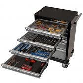 GEARWRENCH 196 Piece Tool Kit 7 Drawer 26 Inch Roller Cabinet 89916