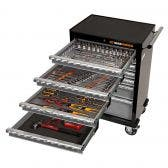 GEARWRENCH 176 Piece Tool Kit 7 Drawer 26 Inch Roller Cabinet 89902