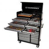GEARWRENCH 268 Piece Tool Kit 11 Drawer 42 Inch Cabinet 8 Drawer Deep Chest 89906