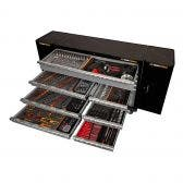 GEARWRENCH 321 Piece Tool Kit 10 Drawer 53 Inch Cabinet 2X Side Cabinet 89917