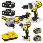 DEWALT 18/54V Brushless 3 Piece 2 x 6.0Ah Combo Kit DCZ341T2T-XE
