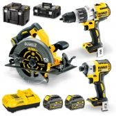 DEWALT 18/54V Brushless 3 Piece 2 x 6.0Ah Combo Kit DCZ357T2T-XE