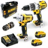 DEWALT 18V Brushless 2 Piece 2 x 5.0Ah Combo Kit DCK2094P2-XE