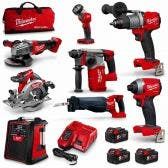 MILWAUKEE 18V FUEL™ 8 Piece 3x5.0Ah Combo Kit M18FPP8A2503B