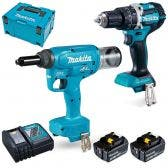 MAKITA 18V Brushless 2 Piece 2 x 5.0Ah Combo Kit DLX2368TJ