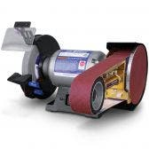 ITM 200mm Bench Grinder w/ 50x915mm Multitool Attachment