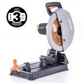 EVOLUTION 355mm 2200W Multi-Material Cutting Chop Saw w. Blade R355CPS