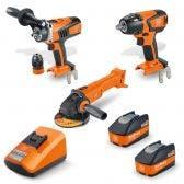 FEIN 18V Brushless 2 x 5.2Ah 3 Piece Combo Kit 69908010729