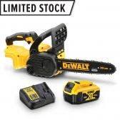 DEWALT 18V Brushless 4.0Ah 300mm Chainsaw Kit DCM565M1-XE
