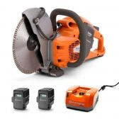 HUSQVARNA 36v 2 x 5.2Ah 9inch Demolition Saw Kit TTKIT763