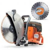 HUSQVARNA 350mm Demolition Saw K770 Kit TTKIT768