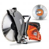 HUSQVARNA 400mm Demolition Saw K970 Kit TTKIT769