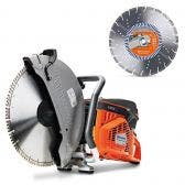 HUSQVARNA 400mm Demolition Saw K970 Kit TTKIT770