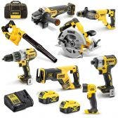 DEWALT 18V Brushless 8 Piece 2 x 5.0Ah Combo Kit DCZ897P2-XE