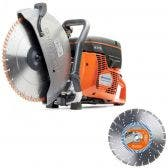 HUSQVARNA 350mm Demolition Saw K770 Kit TTKIT778