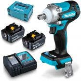 MAKITA 18V Brushless 2 x 5.0Ah Impact Wrench Detent Pin Kit DTW301RTJ