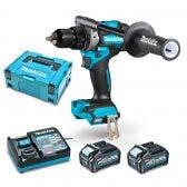MAKITA XGT 40V Max Brushless Driver Drill Kit DF001GM203