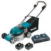 MAKITA 18V 460mm 2 x 6.0Ah Lawn Mower Kit DLM464PG2