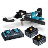 MAKITA 18Vx2 Brushless 2 x 5.0Ah Earth Auger Kit DDG460T2X4