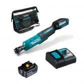 MAKITA 18V 1/4inch + 3/8inch Brushless 1x5.0Ah Ratchet Wrench Kit DWR180RTX1