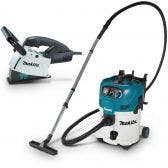MAKITA 2 Piece Vacuum Cleaner Dust Extractor & Wall Chaser Kit SG1251JVC30M