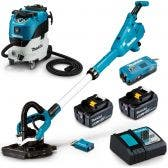MAKITA 18V Sander & Vacuum Brushless Combo Kit DSL800RTVC42M