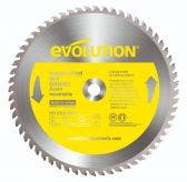 EVOLUTION 355mm 90T TCT Cold Cut Saw Blade for Stainless Steel Cutting