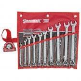 SIDCHROME 10 Piece Spanner Set SCMT22208