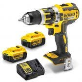 DEWALT 18V Brushless 2 x 4.0Ah 13mm Hammer Drill Kit DCD795M2-XE