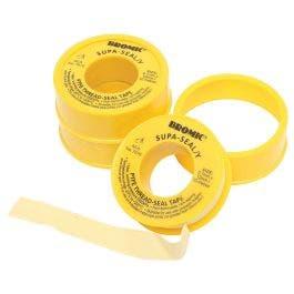 BROMIC Yellow Gas 12mmx10M Teflon Tape 7170381