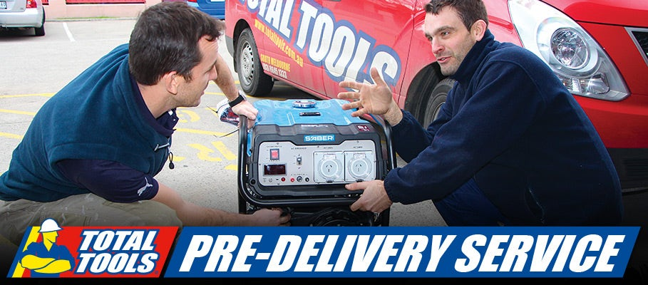 FREE Pre-Delivery Service on Outdoor Power Equipment!