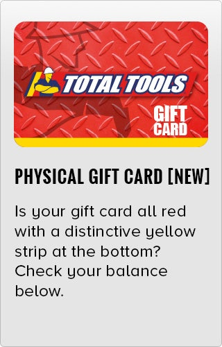 Need To Know How Much You Have On Your Gift Card? | Total Tools