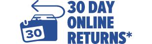 30 Days Online Returns